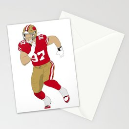 QB's Worst Nightmare Stationery Cards