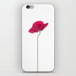 Solo Poppy iPhone Skin