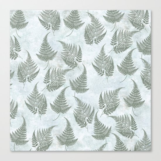 Fern Fever version 2 Canvas Print