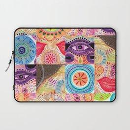 vibrant playful rhythm Laptop Sleeve