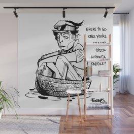 Shit's Creek - Forbes comic083012 Wall Mural