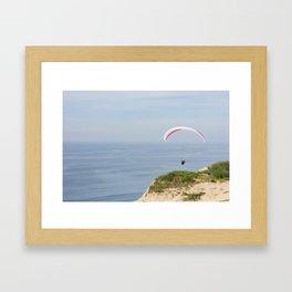 Glider Heaven Framed Art Print