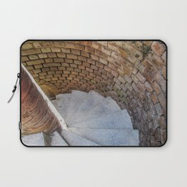 A Downward Spiral in Time Laptop Sleeve