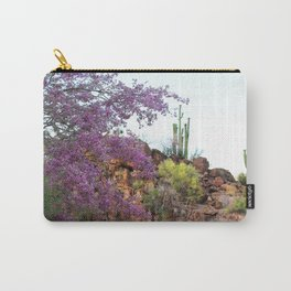Painted Rocks Ironwood Blooms Carry-All Pouch