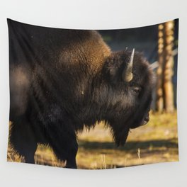 Yellowstone National Park - Bison Wall Tapestry
