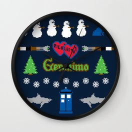 Ugly Christmas Special Wall Clock