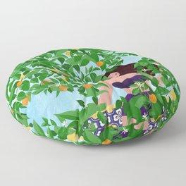 Sevilla girl Floor Pillow
