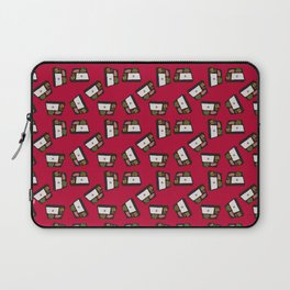 bento lunch red Laptop Sleeve