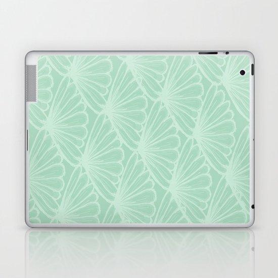Lady in Mint Laptop & iPad Skin
