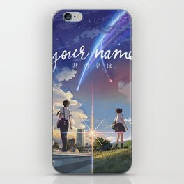 Your Name Anime iPhone Skin