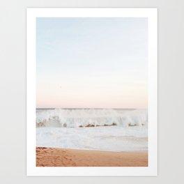 Beach Mood California Beach Art Print
