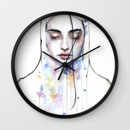Habibi (nudity) Wall Clock