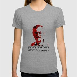 Jeremy Corbyn - peace not war T-shirt