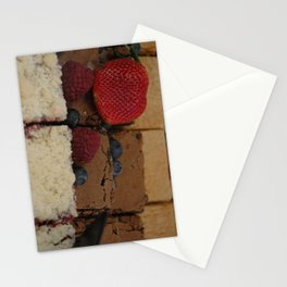 Assorted Desserts Stationery Cards
