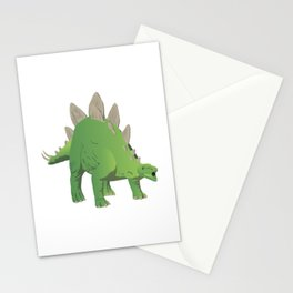Stegosaurus Dinosaur Stationery Cards