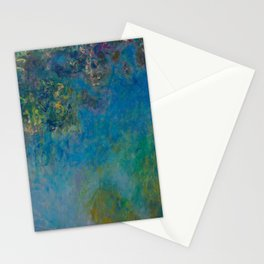 Claude Monet Wisteria Stationery Cards
