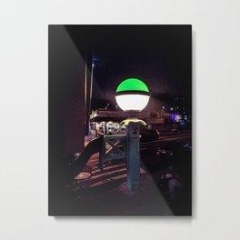 Luminescence Metal Print