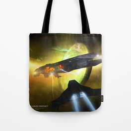 We Have Contact - Portrait 01 Tote Bag