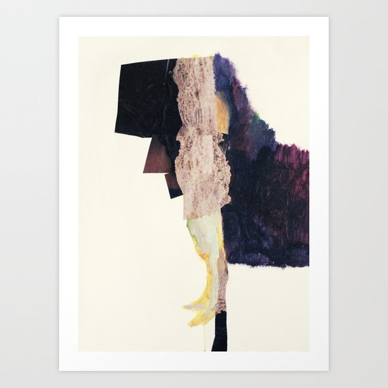 standing figure Art Print