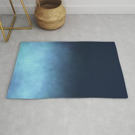 Mist - Midnight Blue Ombre Rug