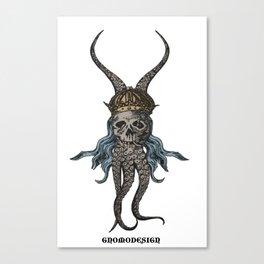 Octopus King Canvas Print