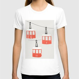 Barcelona Cable Cars T-shirt