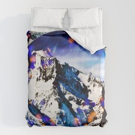 Nina and Matthias - Overwhelm Me Duvet Cover