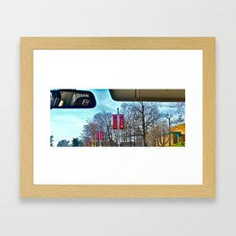 Average View Framed Art Print