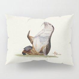 Sea Lion Watercolor Pillow Sham