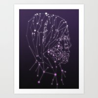 constellation Art Prints featuring Constellation by Zak Rutledge