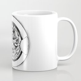 Imaginary Pet Diary - Cat in Washer Coffee Mug