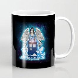 The Angel has a phone box Coffee Mug