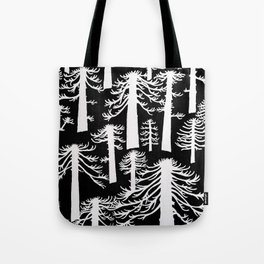 Araucarias Blancas Tote Bag