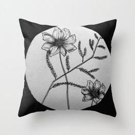Spring Transition Throw Pillow