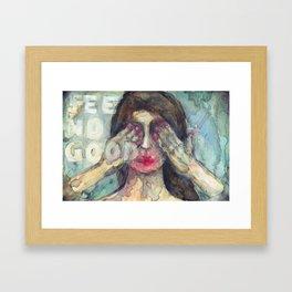 See No Good Framed Art Print