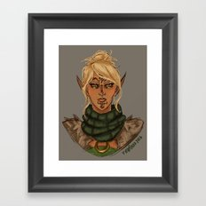 Velanna Framed Art Print