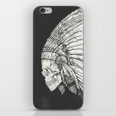 Indian Skull iPhone Skin