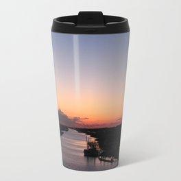 Waterway Sunset #1 Travel Mug