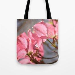 Pretty Dogwood Tree Flowers Tote Bag