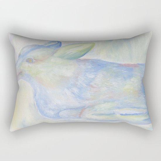 Ghost Dog Rectangular Pillow