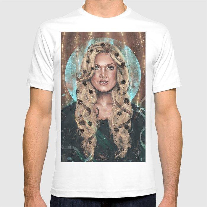 bcdfccd477ae3a May We Meet Again Clarke T-shirt by monikax