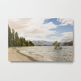Lake Wanaka Tree Metal Print