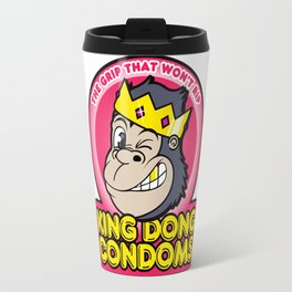 King Dong Condoms Travel Mug