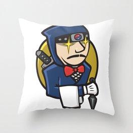 Ninja Jenkins Throw Pillow