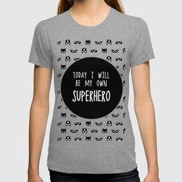 My own superhero T-shirt