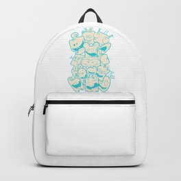 Crazy Monsters Backpack
