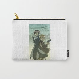 Sherlock Holmes and John Watson - The Game is On Carry-All Pouch