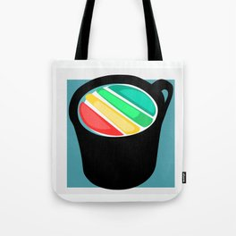 Rainbow in my Coffee Tote Bag