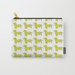 Doxie Love - Lime Carry-All Pouch