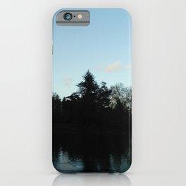 Nature, landscape and twilight 4 iPhone Case
